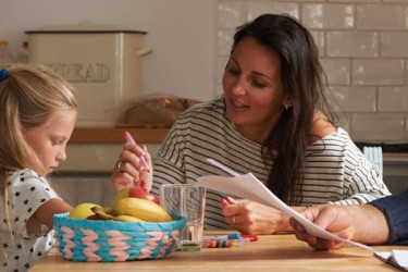 hazard control with children eating