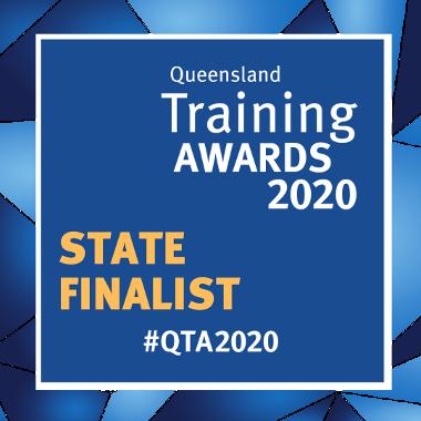 QLD training award 2020 state finalist
